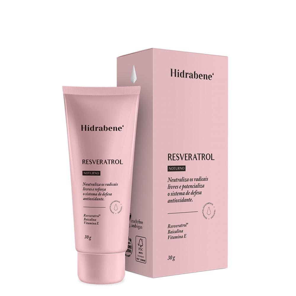 Hidrabene Resveratrol Antioxidante Baicalina Vitamina E