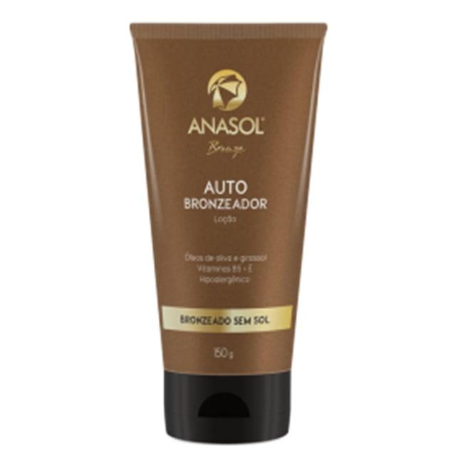 Anasol Autobronzeador Loção 150g - Bronzeado Sem Sol