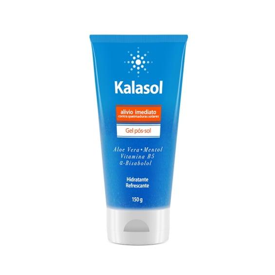 Kalasol  Gel  Pós-Sol 150g  - Hidratante Refrescante Alívio Imediato