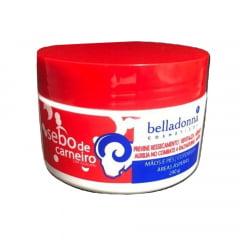 Creme Sebo de Carneiro Belladonna 240G - Com Uréia e Silicone - Previne Fissuras