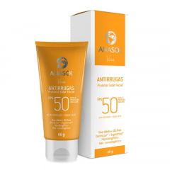 Anasol Protetor Solar Facial Antirrugas FPS50 - Toque Seco - Hipoalergênico - Ação Tensora
