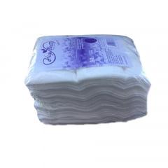 Toalha Pedicure Descartável Higibrás 30X40cm  - 100% Viscose