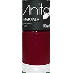 Esmalte Anita 185 Marsala - Perolado