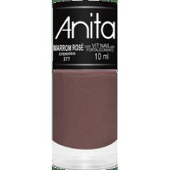 Esmalte Anita 377 Marrom Rosé - Cremoso