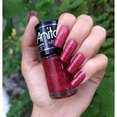 Esmalte Anita 400 Carmim - Glitter