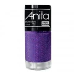 Esmalte Anita 454 Explode Coração - Glitter - Carnaval 2020