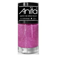 Esmalte Anita 472 Purpurinada - Quanto Mais Brilho Melhor