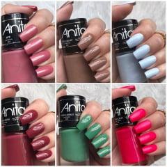 Esmalte Anita Coleção Meu País Tropical com 6 cores