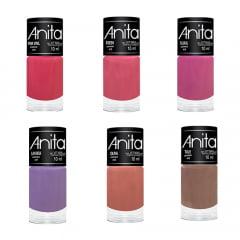 Esmalte Anita Coleção Primavera/2018 com 6 cores