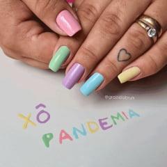 Esmalte Anita Coleção Xô Pandemia com 6 cores