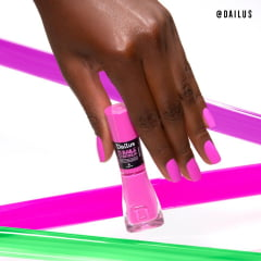Esmalte Dailus 1070 Não Miss Quece Neon Cremoso - O Baile Continua