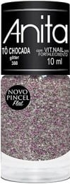 Esmalte Anita 388 Tô Chocada - Glitter