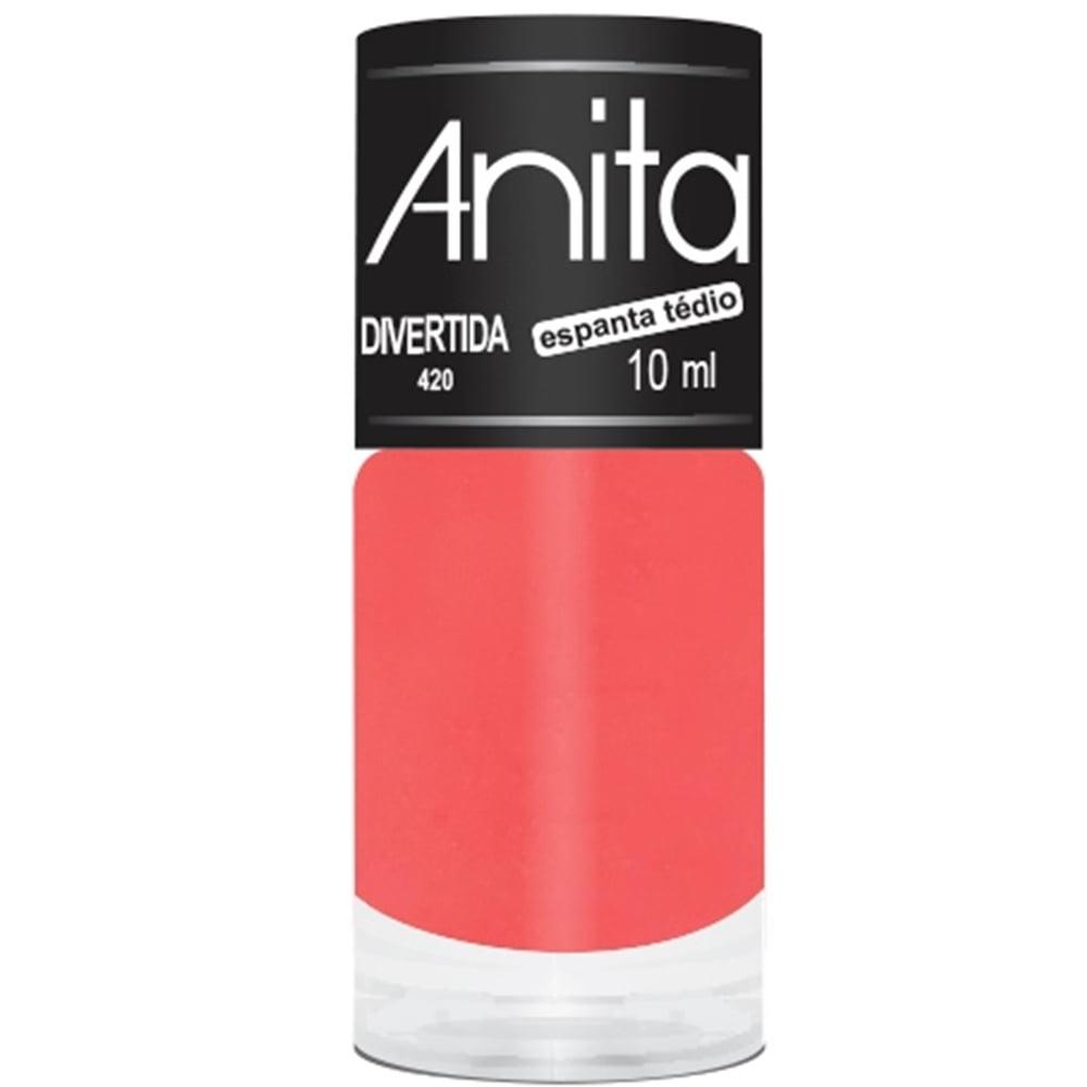 Esmalte Anita 420 Divertida - Neon Cremoso - Espanta Tedio