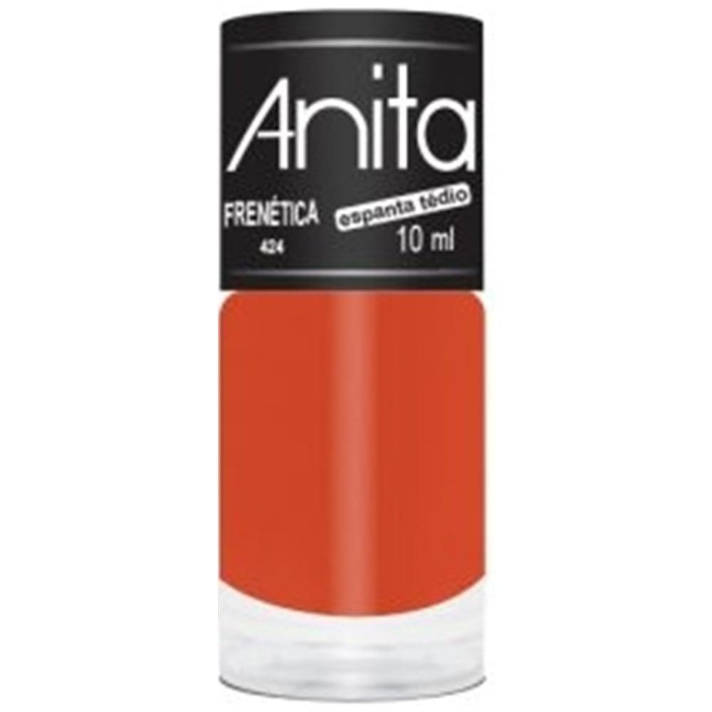 Esmalte Anita 424 Frenética - Neon Cremoso - Espanta Tedio