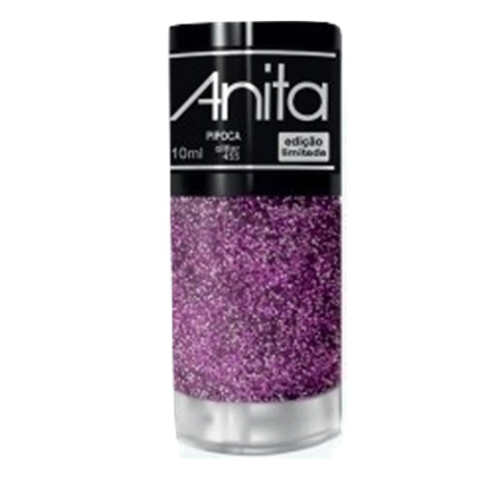 Esmalte Anita 455 Pipoca - Glitter - Carnaval 2020