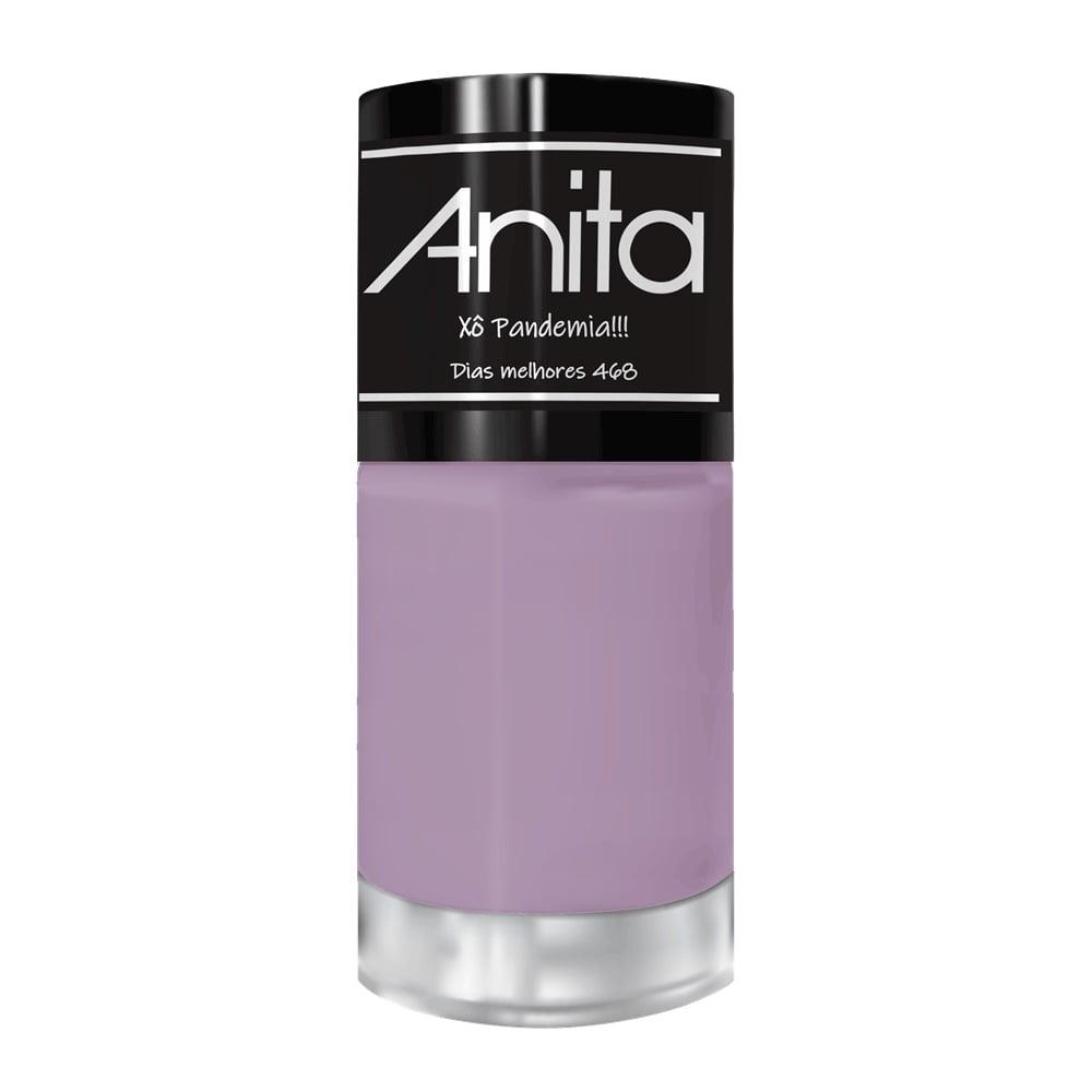 Esmalte Anita 468 Dias Melhores Cremoso - Xô Pandemia